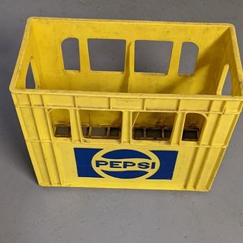 Pepsi Cola crate. - Advertising