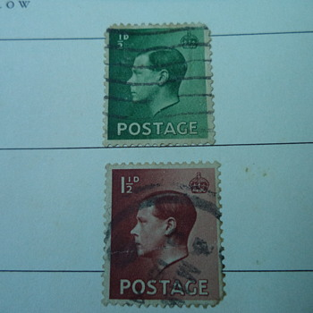 King Edward VIII - Stamps