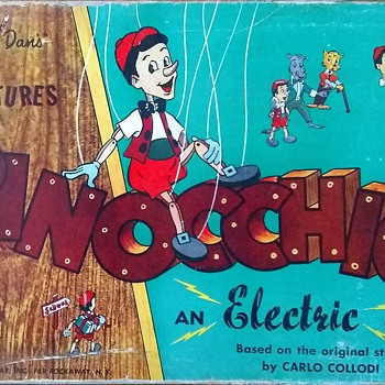 The Adventures of Pinocchio! An Electric Game!  - Games