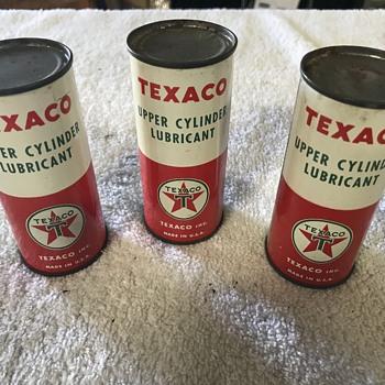 Texaco 4 ounce oil cans   - Petroliana