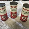 Texaco 4 ounce oil cans