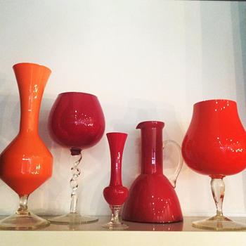 Opaline, mid-century?? - Art Glass