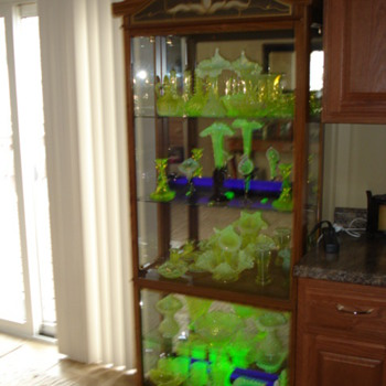 My Vaseline glass collection - Glassware