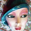 Art Deco ceramic mask, Clay Arts,  San Francisco