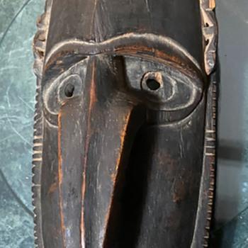 Old Sepik River Mask - Fine Art