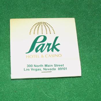 Vintage Park Hotel & Casino Matchbook ~ Las Vegas, Nevada - Tobacciana