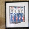 Antique .Oriental woodblock prints