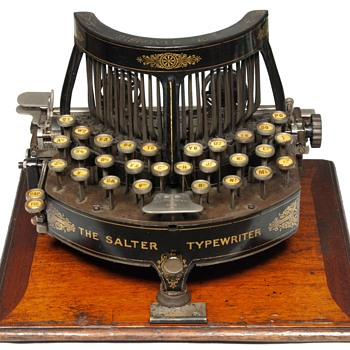 The Salter Typewriter - 1892 (antiquetypewriters.com)