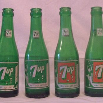 7up Swimsuit bottles - Bottles