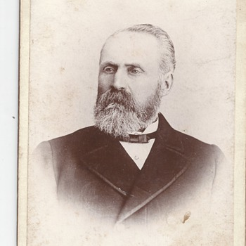 Post 3 of 3 George Hilliard, Member of Parliament, Late 1800, Happy Canada Day's, CW Members - Photographs