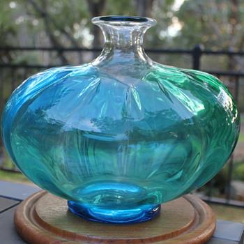 Tsugaru Vidro classic glass vase - Art Glass