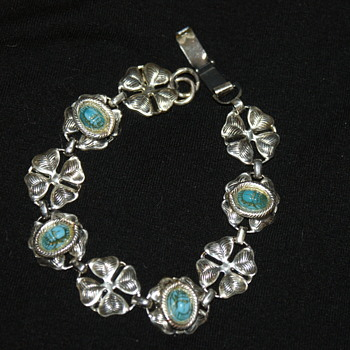 Costume Scarab Bracelet - Costume Jewelry