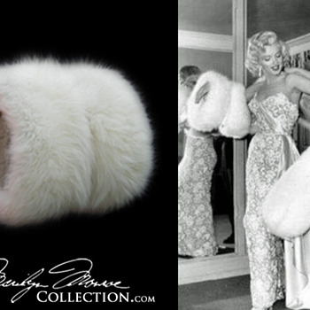 Marilyn Monroe's Personal White Fox Fur Muff - Womens Clothing