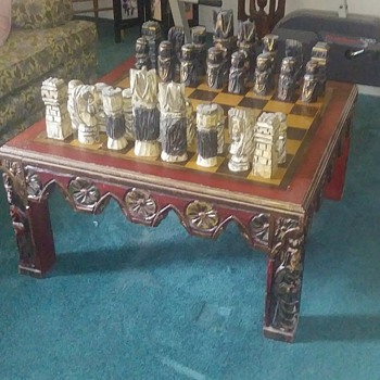 Newly inherited Chess Table - Games