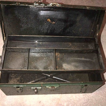 Old tool box or tackle box?