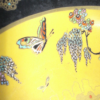 Another marvelous Carltonware with butterflies - Art Deco