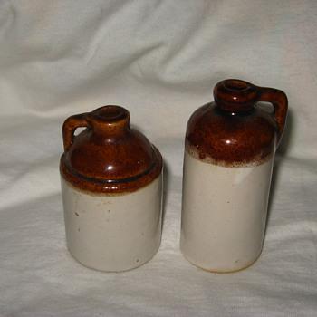 possible minature moonshine jugs?