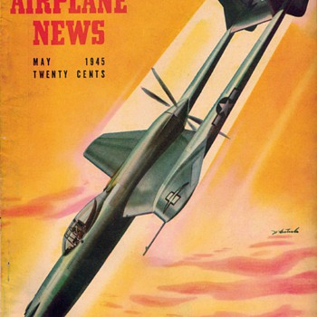 "1945 - ""Model Airplane News"" Magazine (May) - Paper"
