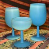 Blue Liquor Glasses