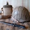 Israeli Defense Forces Six Day War helmet with net