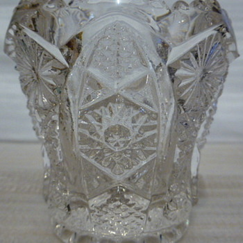 Imperial Glass toothpick holder - Glassware