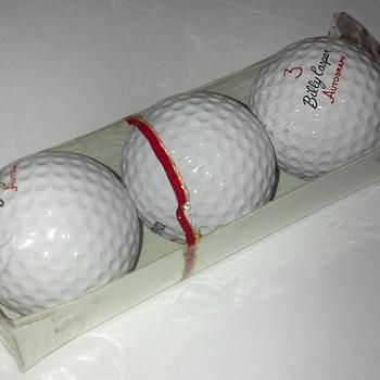 Billy Casper Signature Golf Balls - Sporting Goods