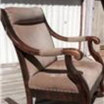 Hardwood Rocker - Furniture