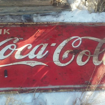 RARE? 3'×6' - Coca-Cola