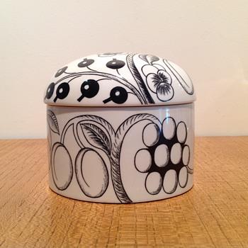 BIRGER KAIPIAINEN - PARATIISI BOX - ARABIA FINLAND - Pottery