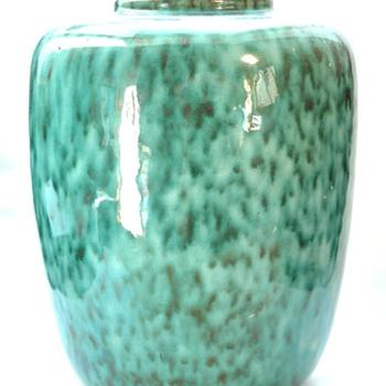 FERNAND ELCHINGER  art deco vase 1938 - Pottery