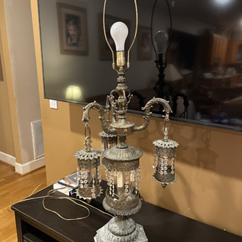 Help identifying cool old lamp  - Lamps