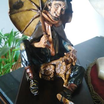 Italian porcelain figure - Figurines