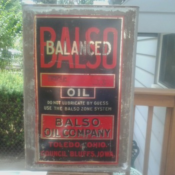 Balso Oil Can - Petroliana
