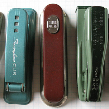 Mid Century Modern Staplers - Office