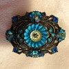 Weiss Vintage Brooch with Margarita  Rivoli cut stones