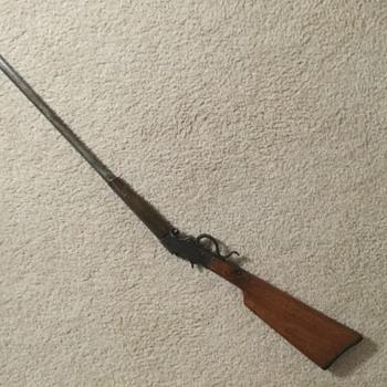 Rifle 22caliber rolling block