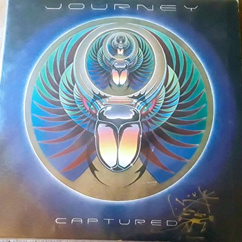 Journey Captured Promo Album, 1981. Signed by Stanley Mouse And Sealed. - Music Memorabilia