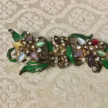 Large antique brooch - Costume Jewelry