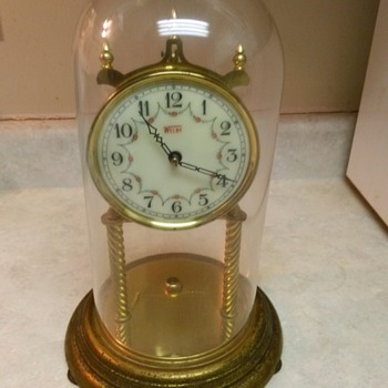 WELBY GLASS DOME CLOCK - Clocks