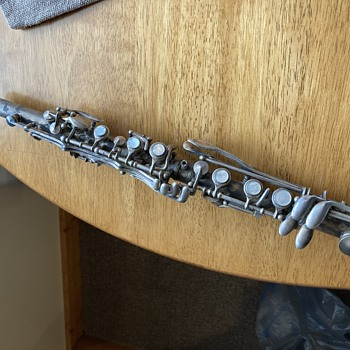 Silver Clarinet Need Info - Musical Instruments