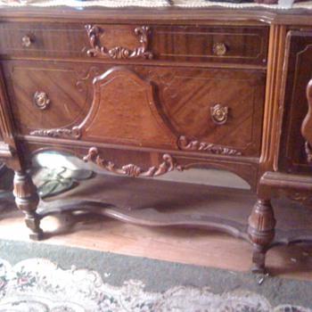 old  cabinet - Furniture