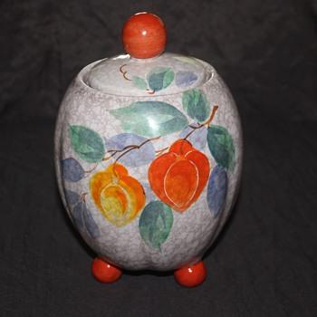 Czech Cookie Jar - Pottery