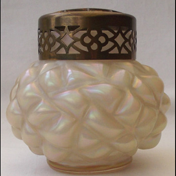 Kralik MOP ( pineapple ) vase - Art Glass