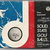 "The ""Chi Chi"" Rodríguez Solid State Signature Golf Ball, circa 1964."