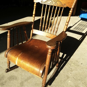 old rocking chair ???
