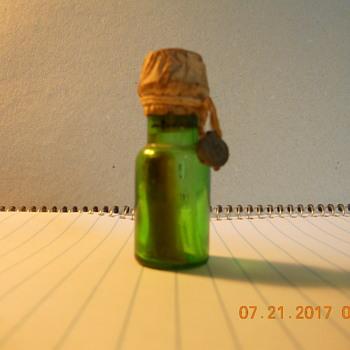 my little green bottle