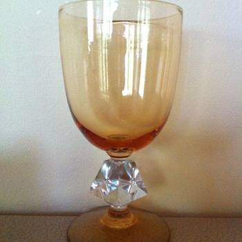 Amber Glass - Glassware