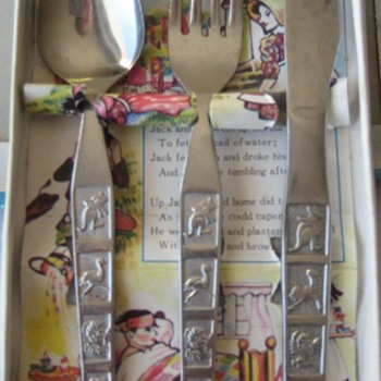 Children's Jack & Jill Cutlery Set  - China and Dinnerware