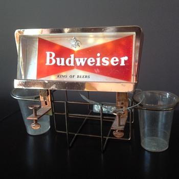 Budweiser bar caddy  - Breweriana