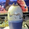 Art pottery vase signed